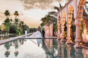 Shooting photo mariés dans un Palais de Marrakech