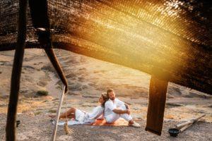 mariage dans le désert d'Agafay
