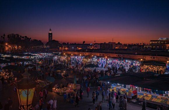 Marrakech, ideal for a honeymoon trip
