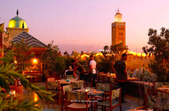A dinner in the medina