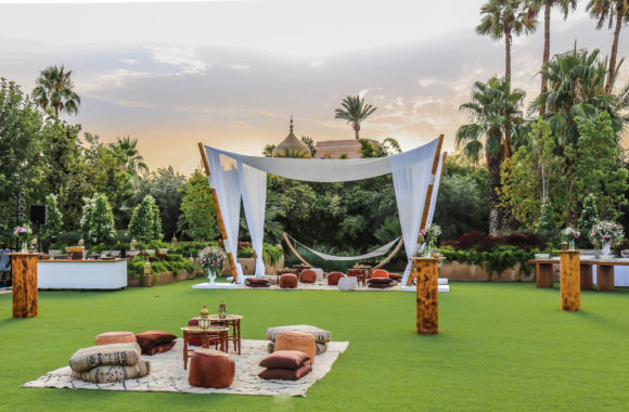 Brunch ideas for the day after a wedding in Marrakech